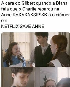 Anne with an e shirbert memes Netflix, Anne White, E 3, Ouat, Harry Potter, Tv Shows, Romance, Magic, Humor