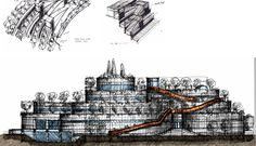 With perfect demonstration of architectonic elements through its blue-print, House of Hungarian Music could be an architect's dream and a musician's hymn.  http://globalhop.indiaartndesign.com/2014/08/the-house-of-hungarian-music.html