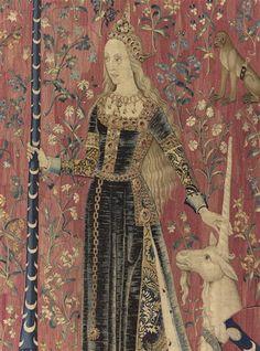 La Dame à la Licorne : le Toucher