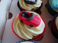 Sweets, Car Cupcakes, Cooking, Desserts, Food, Google Search, Image, Cars, Kitchen