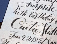 Nib & Zed, studio of plurabelle calligraphy