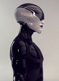 """Cyborgs probably run the gamet, including those encased in tech so as to seem soulless. (Note the verb """"seem"""")"""