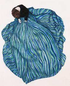 Monica Rohan, Wave, Oil on Board, 2014