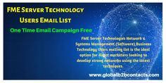 Reach your targeted IT people globally with effective and accurate Information Technology Mailing Lists.
