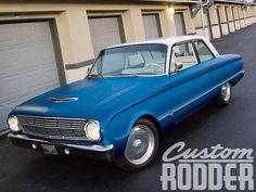 Custom Rodder goes inside the Overhaulin television show to follow along with a Ford Falcon build-up.