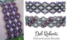New! Diamond Lattice pattern by Deb Roberti