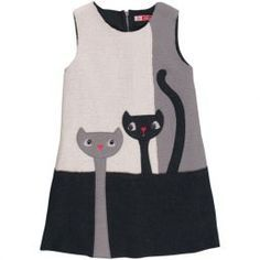 cats dress. I had a dress with a similar cat when I was 7.