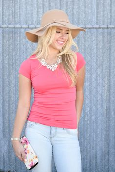 0c0837bd332 Perfect Layering Seamless Tee. My Sisters Closet · Online Clothing Boutiques  ...