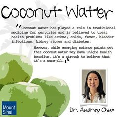 Asthma and Cold Prevention using Coconut Water