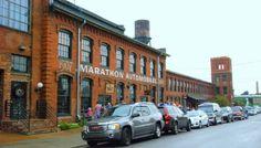 marathon building exterior