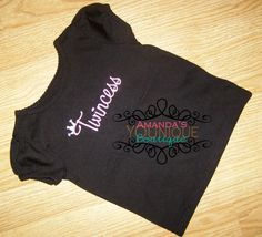 Twincess Embroidered Shirts by AYBoutique on Etsy, $25.00