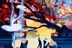 """Saatchi Art Artist Rudy Karel Schneeweiss; Painting, """"DANCER II."""" #art"""