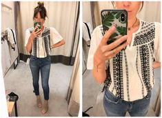 The 2018 Anniversary Sale Is Upon Us....(as are my dressing room selfies) - The Mom Edit