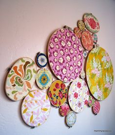 mommy is coo coo: How to Make Embroidery Hoop Artwork