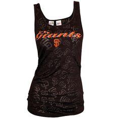 San Francisco Giants Burnout Tank by Concepts Sport - MLB.com Shop