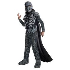 Child Movie DC Comics Villain Superman Man of Steel General Zod Deluxe Costume Boy Costumes, Super Hero Costumes, Halloween Costumes For Kids, Villain Costumes, Superman Costumes, Adult Halloween, Spirit Halloween, Halloween Crafts, Halloween Ideas