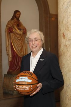 Sister Marita David Kirsch, IHM:  The Mythical City team defeated top-ranked Temple University – breaking their 31-game winning streak.