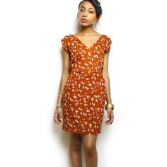 Budapest Dress Rust, $49, now featured on Fab.