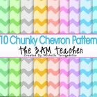 This set includes 10 V-Day themed, Chunky Chevron patterns. I created the pattern while creating my SMS Conversation Clip Art Set.  I hope you enjo...
