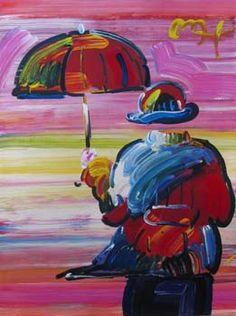 Umbrella Man, Peter Max