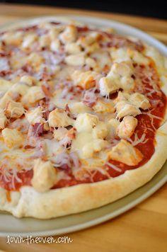 Bacon Chicken Pizza