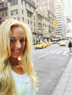 "From Sabine Lisicki: ""‏Bye bye NYC, see you next year! Thx for all the support at the US Open!!!"" #LoveIt #BestFanBase #AsiaNext - Sept. 2016"