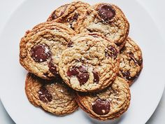 Really, though. These brown butter chocolate chip cookies are insane.