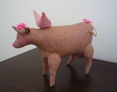 Boneca de Pano - Vaca