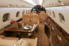 Luxury Jet Interior - Legacy 600