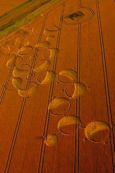 Wiltshire Crop Circle by Lora Rollstone, via 500px