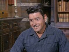 Guy Williams as Will Cartwright -  smile to die for