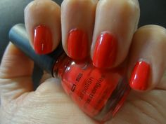 Scented Neon Nail Polish in Cherry