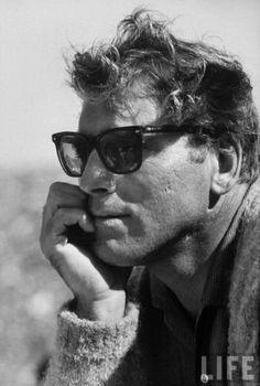 Burt Lancaster wearing Persol