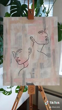 Canvas Painting Projects, Art Projects, Abstract Painting Techniques, Abstract Paintings, Mini Canvas Art, Watercolor Art, Art Drawings, Line Artwork, Art Brush