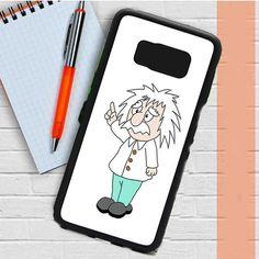 Albert Einstein Carttoon Samsung Galaxy S8 Plus Case Dewantary