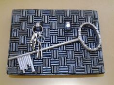Best Out Of Waste Paper Key holder