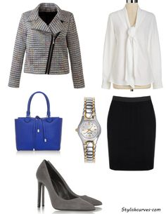 scandal Office Chic Looks for plus sizes
