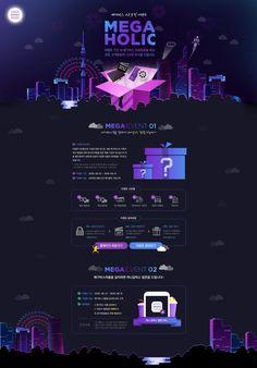 MegaBox Ad Design, Event Design, Layout Design, Website Layout, Web Layout, Pag Web, Magazine Ideas, Online Web Design, Event Banner
