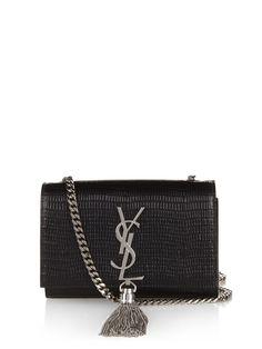 Monogram small lizard-effect cross-body bag by Saint Laurent  4144c08e50c62