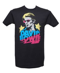 David Bowie - Starman Tee David Bowie Starman, Heavy Metal Fashion, Metal Shirts, David Gilmour, Tee Shirts, Menswear, Mens Tops, How To Wear, Style