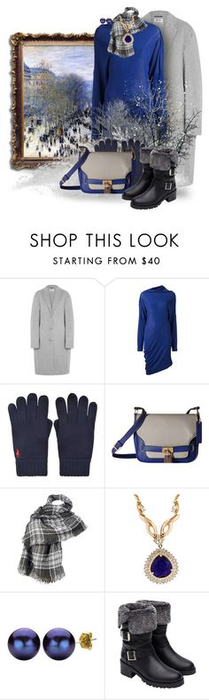 """""""Snowy Classic"""" by kathy-martenson-sanko ❤ liked on Polyvore featuring Acne Studios, Trilogy, Maison Margiela, Polo Ralph Lauren, U.S. Polo Assn., Wilsons Leather, DaVonna and Zara"""