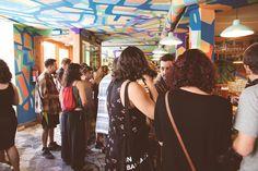 Durante la presentación de ROPA TENDIDA/ verano en Chinasky, Lavapiés. https://www.facebook.com/ropatendida/ fotografía@ Natalia Romay