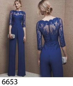 New Pants Suit Mother Of The Bride Dress jacket Chiffon Formal Gowns Plus Size. 2017 Long Sleeve Mother Of The Bride Dresses Jacket Pants Suits Custom Chiffon. Sleeve Mother Of The Bride Dresses Wedding Party Formal Beading Gowns Custom. Wedding Guest Jackets, Jumpsuit For Wedding Guest, Dress Wedding, Jumpsuit Lang, Jumpsuit Dress, Formal Jumpsuit, Trendy Dresses, Blue Dresses, Formal Dresses
