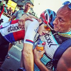 At today's finish  @petrvakoc #TDP2015 #ourway