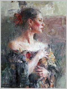 Carolyn Anderson artist, love her style Portraits, Portrait Art, Visual And Performing Arts, Art Addiction, Historical Art, Cool Paintings, Beautiful Paintings, Figure Painting, Pastel