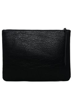 Croc Effect Leather Cluth Bag