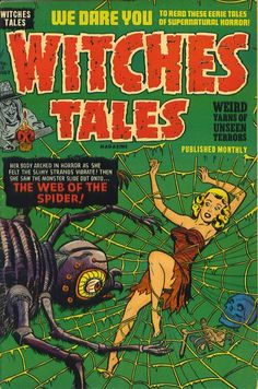 Cover for Witches Tales (Harvey, 1951 series) #12