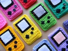 Gameboy Color inspired iPod Touch cases