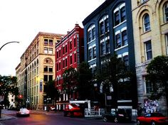 The Exchange District of Winnipeg, Manitoba, Canada. A well preserved part of Winnipeg history and a national historic site. The Places Youll Go, Places Ive Been, Places To Go, O Canada, Canada Travel, Canadian Prairies, Western Canada, England And Scotland, Largest Countries
