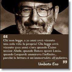 Frasi D Amore Umberto Eco.Le Migliori 15 Immagini Su Umberto Eco Citazioni Sulla Lettura